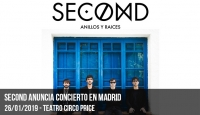 Second anuncia concierto en Madrid