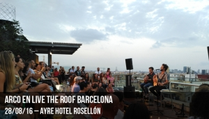Arco en Live the Roof Barcelona