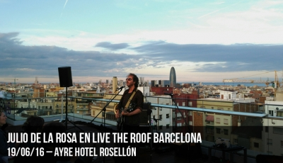 Julio de la Rosa en Live the Roof Barcelona