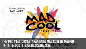The Who y Editors estarán en el Mad Cool de Madrid