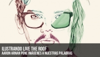 "Ilustrando Live The Roof: ""A vuestros pies"""