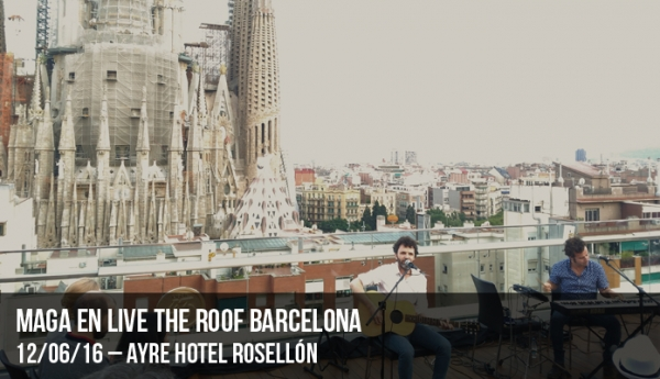 Maga en Live the Roof Barcelona
