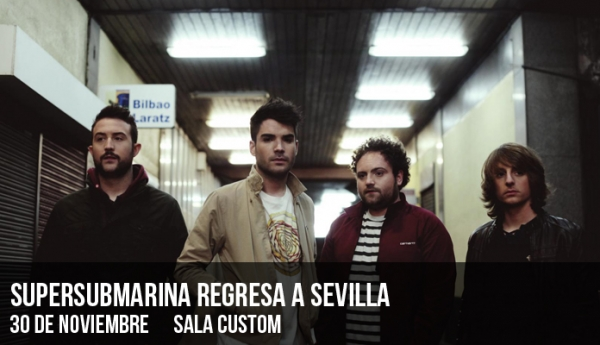 Supersubmarina regresa a Sevilla