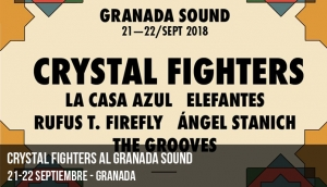 Crystal Fighters al Granada Sound