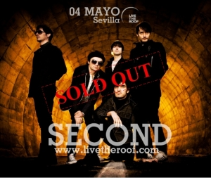 Second stop SOLD OUT stop SEVILLA stop
