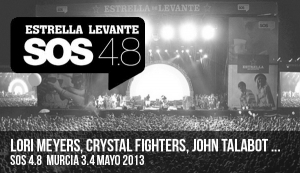 CRYSTAL FIGHTERS, LORI MEYERS, CUCHILLO...