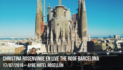 Christina Rosenvinge en Live the Roof Barcelona