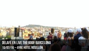 Delafe en Live The Roof Barcelona