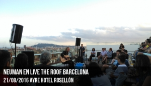 Neuman en Live the Roof Barcelona