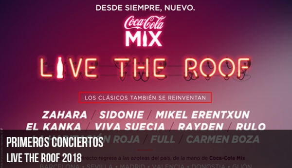 Live The Roof 2018
